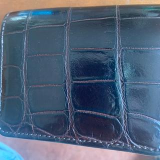 ガンゾ(GANZO)のワイルドスワンズ kf‐003 クロコ(折り財布)