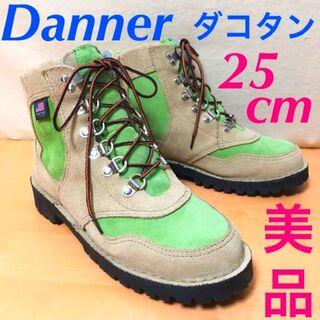 ダナー(Danner)の【ダナー】マウンテンブーツ★ダコタン★グリーン25cm★スエード美品(ブーツ)