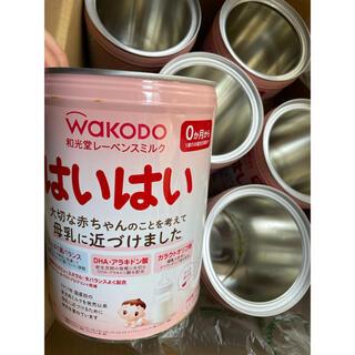 ワコウドウ(和光堂)のミルク ハイハイ 空き缶 大缶 6缶セット!(小物入れ)