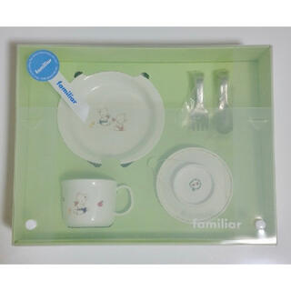 ファミリア(familiar)の新品 ファミリア 食器セット(離乳食器セット)