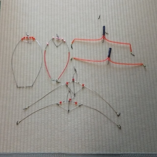 釣り天秤6本(釣り糸/ライン)