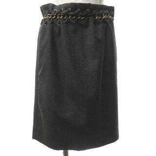 クロエ(Chloe)のクロエ CHLOE チェーンデザイン スカート 34 約S(ひざ丈スカート)