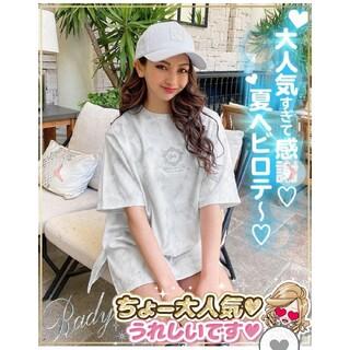 レディー(Rady)のRady☆大理石TシャツM(Tシャツ(半袖/袖なし))