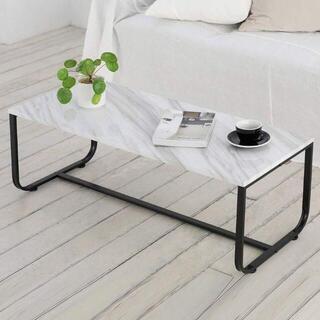 新品 大理石風♪ ローテーブル シンプル おしゃれ(ローテーブル)
