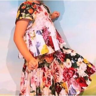 ドルチェアンドガッバーナ(DOLCE&GABBANA)のdolce and gabbana kids キッズ セット 可愛い ドレス風(スカート)