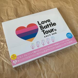 エービーシーズィー(A.B.C.-Z)のA.B.C-Z 2018 Love Battle Tour(DVD初回限定盤) (ミュージック)
