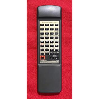 シャープ(SHARP)のSHARP MD-Z5 リモコン RRMCG0047AWSA(その他)