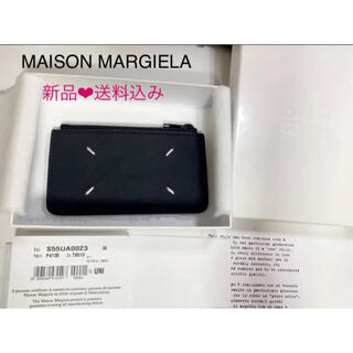 マルタンマルジェラ(Maison Martin Margiela)の新品❤︎ MAISON MARGIELAメゾン マルジェラ 黒フラグメントケース(コインケース/小銭入れ)