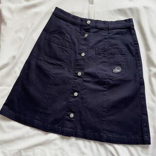 ディズニー(Disney)の【新品未着用】アリエル デニムスカート 台形スカート(ひざ丈スカート)