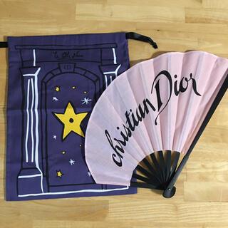 Christian Dior - ディオール クリスチャンディオール 扇子 巾着 ギフトセット