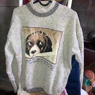 アートヴィンテージ(ART VINTAGE)の犬 セーター クニオコレクション(ニット/セーター)