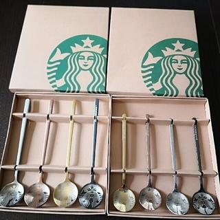 Starbucks Coffee - スターバックス Starbucks スプーン 4本セット 2セット