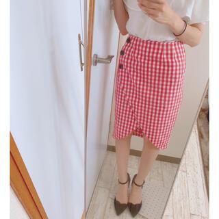 ラグナムーン(LagunaMoon)のラグナムーン ラップスカート(ひざ丈スカート)