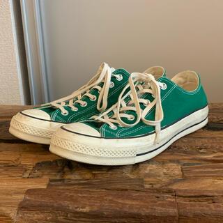 コンバース(CONVERSE)のconverse ct 70 green コンバース グリーン cons コンズ(スニーカー)