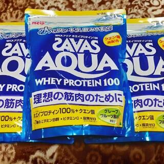 ザバス(SAVAS)のザバス アクア グレープフルーツ風味 840g×3袋(プロテイン)
