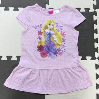 ディズニー(Disney)のディズニープリンセス ラプンツェル 半袖Tシャツ 120(Tシャツ/カットソー)