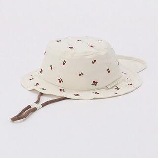 プティマイン(petit main)のプティマイン UVカット アソート総柄刺しゅうバケットハット(帽子)
