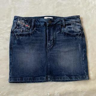 ディーゼル(DIESEL)のdiesel スカート siz25(ミニスカート)