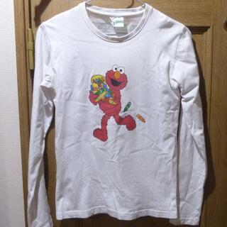 セサミストリート(SESAME STREET)のセサミストリート エルモのTシャツ(長袖) サイズ150 <a722>(Tシャツ/カットソー)