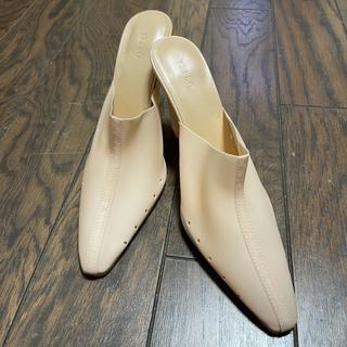 イエローブーツ(Yellow boots)のyello SLEEK WEDGE MULES 送料無料(ミュール)