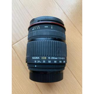 シグマ(SIGMA)のSIGMA 18-200mm F3.5-6.3 DC (ニコン) カメラレンズ(その他)