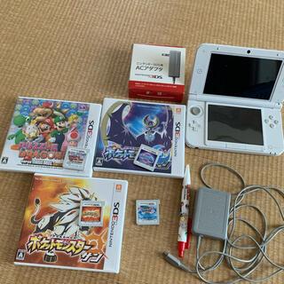 ニンテンドウ(任天堂)のNintendo 3DS  LL 本体 ホワイト セット(携帯用ゲーム機本体)
