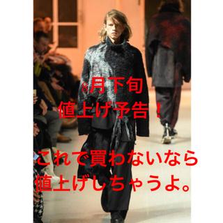 ヨウジヤマモト(Yohji Yamamoto)のyohjiyamamoto20aw 朝倉ニット&ラップパンツ(セットアップ)