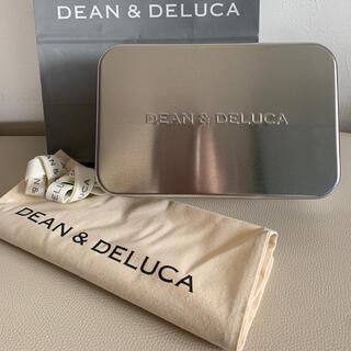 ディーンアンドデルーカ(DEAN & DELUCA)のディーン アンド デルーカ 空缶 ギフトセット リネン袋 リボン ショッパー(小物入れ)
