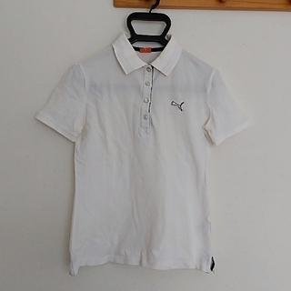プーマ(PUMA)のプーマ白ポロシャツ(ポロシャツ)