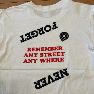 パウエル(POWELL)の超希少 80s ビンテージ USA製 Powell オールドスケート Tシャツ(Tシャツ/カットソー(半袖/袖なし))