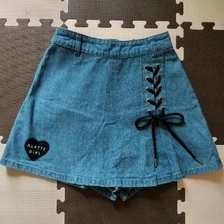 PINK-latte - 【PINK‐latte】キッズ♡スカートデニムパンツ  150cm