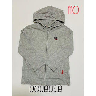 ダブルビー(DOUBLE.B)のダブルビー double.b パーカー  110 ミキハウス mikihouse(ジャケット/上着)