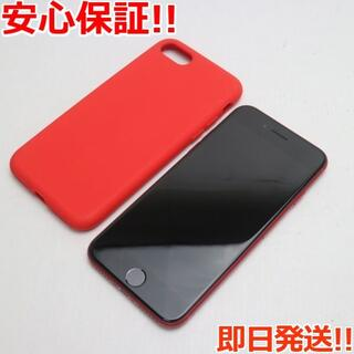 アイフォーン(iPhone)の超美品 SIMフリー iPhone SE 第2世代 128GB レッド (スマートフォン本体)