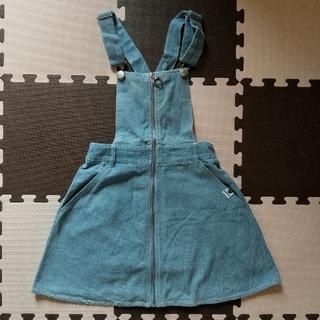 PINK-latte - 【PINK‐latte】サロペットデニムスカート  160cm