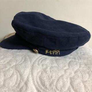 レピピアルマリオ(repipi armario)の新品 レピピ ネイビー キャスケット(帽子)