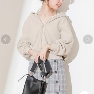 ナチュラルクチュール(natural couture)のみかん様 専用❤︎ natural couture*新品 オニワッフルパーカー(パーカー)