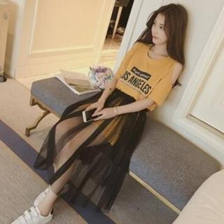 ディーホリック(dholic)の韓国風 オルチャン ワンピース スカート セット(セット/コーデ)