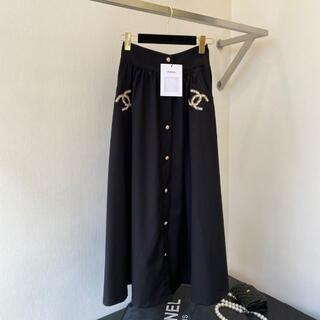 シャネル(CHANEL)のchanel♡スカート(ひざ丈スカート)