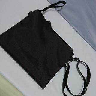 ムジルシリョウヒン(MUJI (無印良品))の無印良品 サコッシュ 黒(ショルダーバッグ)