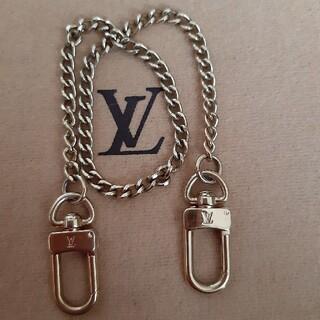 ルイヴィトン(LOUIS VUITTON)のヴィトン チェーンホルダー=ストラップ 美品(ショルダーバッグ)