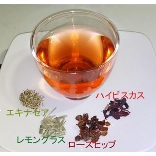 """""""ローズヒップ""""ブレンドハーブティー(ティーバック5袋入り)(茶)"""