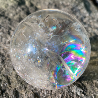 レインボークォーツ ハイクオリティ 水晶 (置物)