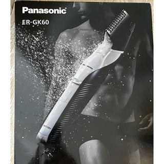パナソニック(Panasonic)のパナソニック ボディトリマー ER-GK60 (ボディケア/エステ)