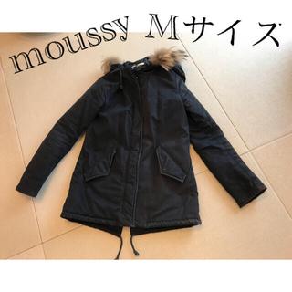 マウジー(moussy)のmoussy モッズコート ブラック(モッズコート)