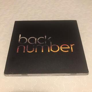 バックナンバー(BACK NUMBER)のback number blues(初回限定盤)(ポップス/ロック(邦楽))