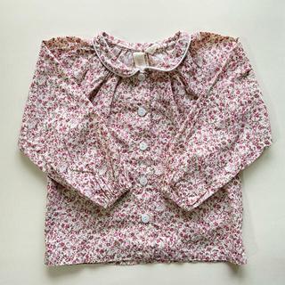 キャラメルベビー&チャイルド(Caramel baby&child )のlittle cotton clothes annie blouse 2-3y(ブラウス)