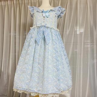 アンジェリックプリティー(Angelic Pretty)のAngelic Pretty Sweet Dolly ジャンパースカート(ひざ丈ワンピース)