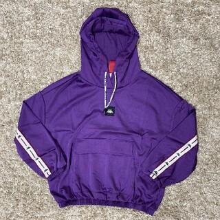 カッパ(Kappa)のkappa カッパ レディース パーカー Lサイズ 紫(パーカー)