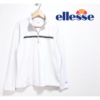 エレッセ(ellesse)の【超人気】❤️ellesse❤️ テニスウェア ジャージ シャツ 白 春 夏(ウェア)