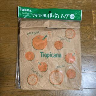 キリン(キリン)のトロピカーナ クラフト風保冷バック オレンジ(ノベルティグッズ)